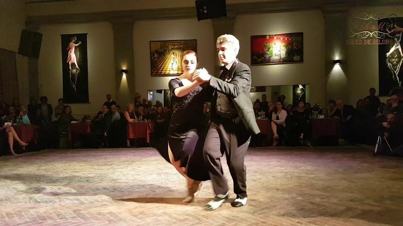 La hija de dos grandes del tango, sigue sus pasos en el gran Salón Canning