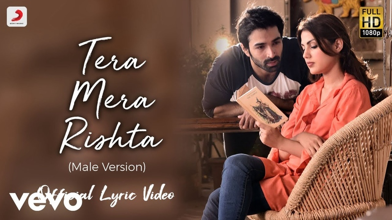 Tera Mera Rishta Male Official Lyric Video Varun Rhea KK Tanishk Bagchi