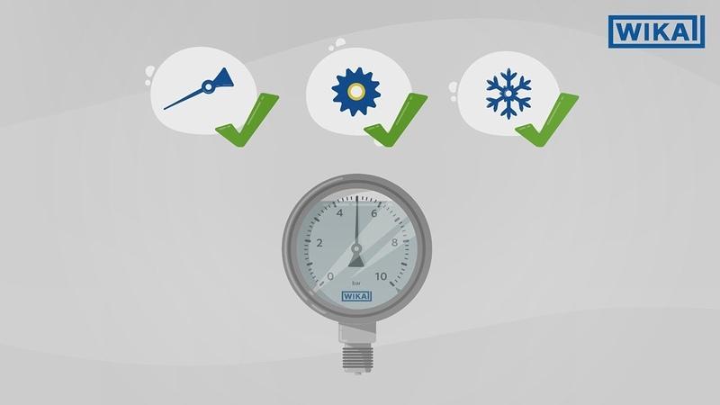 Liquid-filled pressure gauges | Advantages application areas