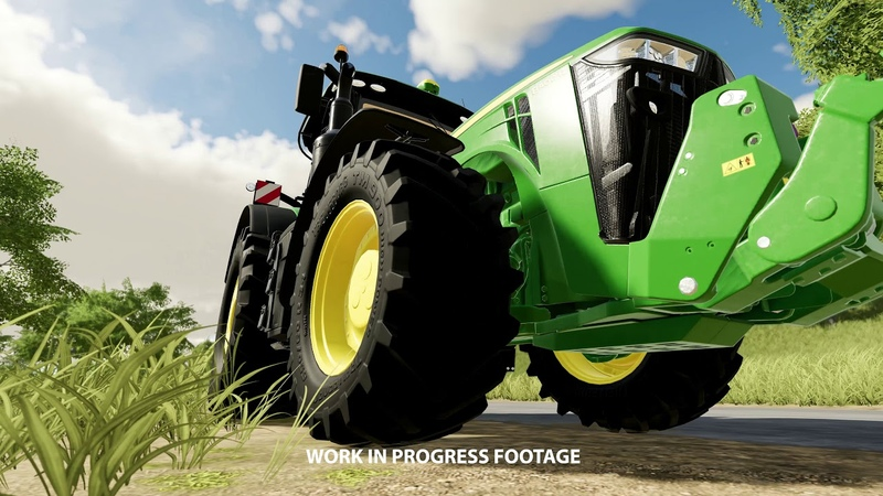 Farming Simulator 19 John Deere 8400R Featurette