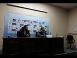 Пресс-конференция после матча Урала и Локомотива
