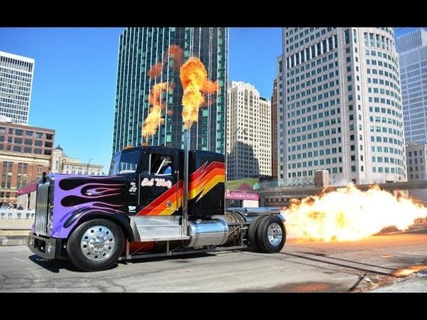 Реактивный грузовик Bob Motz Jet Kenworth 20 000 л.с.