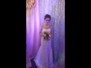 букет для свадебной выставки в Белово 2018