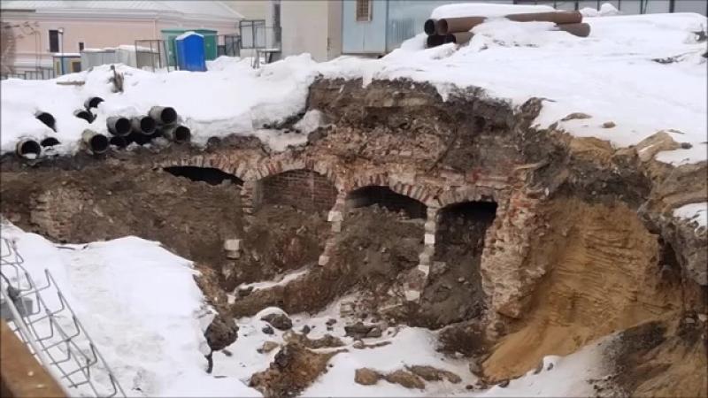 То что раскопали на Тагaнке уже скрыlи от наших глaз