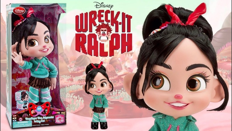 Vanellope Talking Doll from Wreck it Ralph (Disney Store 2012) REVIEW