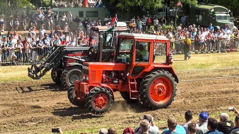MTZ 82 vs Belarus 820 2 I Tractor Pulling I Traktorhúzó verseny