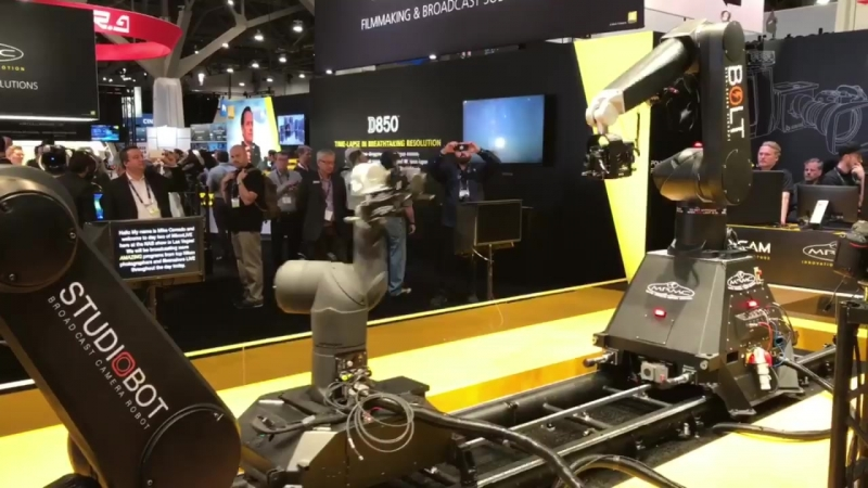 By popular demand NAB Booth Bot booty... - Jim M. Goldstein.mp4