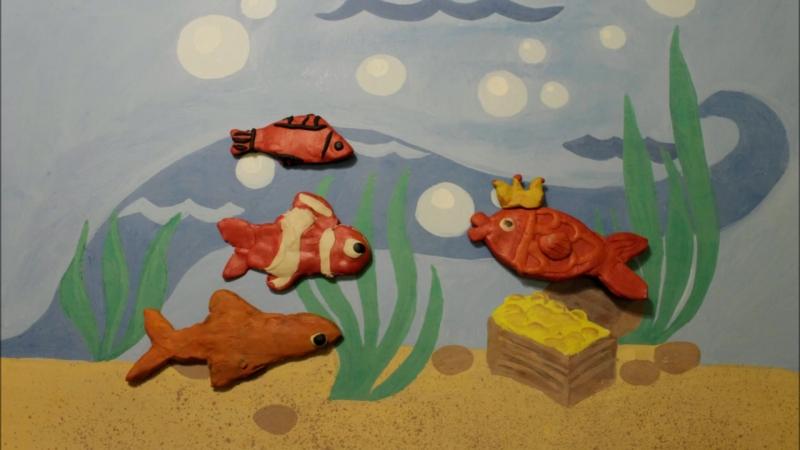 Приключения в подводном мире.