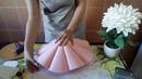 БЕСПЛАТНЫЙ МК. Второй вариан юбки для КУКЛЫ- светильник