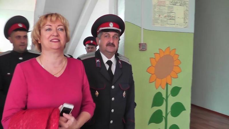 Открытие Станичного центра казачьей культуры имени Атамана М И Платова