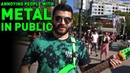 Annoying People With Metal In Public (Djent Busking)