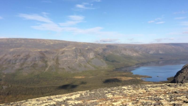Небольшое видео с Зелёной горы на Сейдозеро и его окрестности -2018г