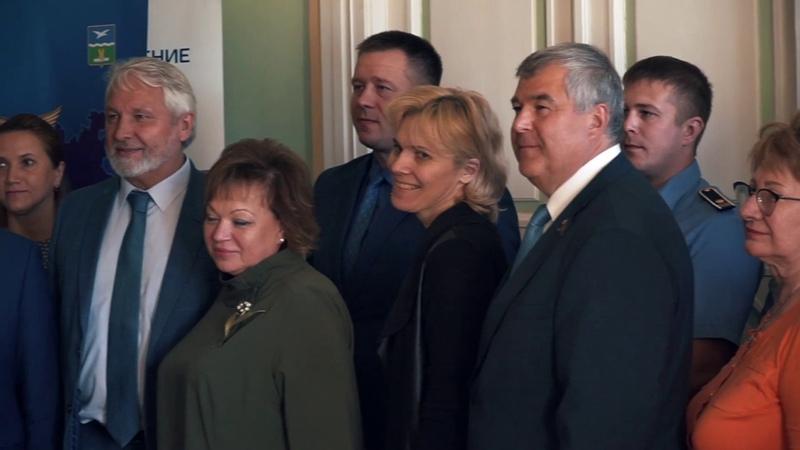 Открытие Чеховского отделения Торгово промышленной палаты Московской области