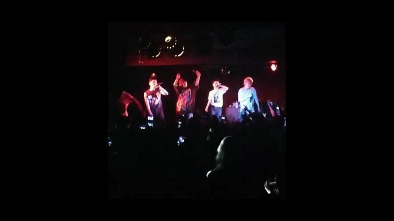 [Fancam cuts] 180416 Rockbottom (Kidoh) 2018 Live in Europe in London - cr. @ruixrai (ig)