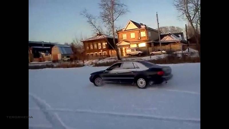 Audi a8 d2 Snow Drift Дрифт в снегу 4.2 подборка ABZ красивые девушки