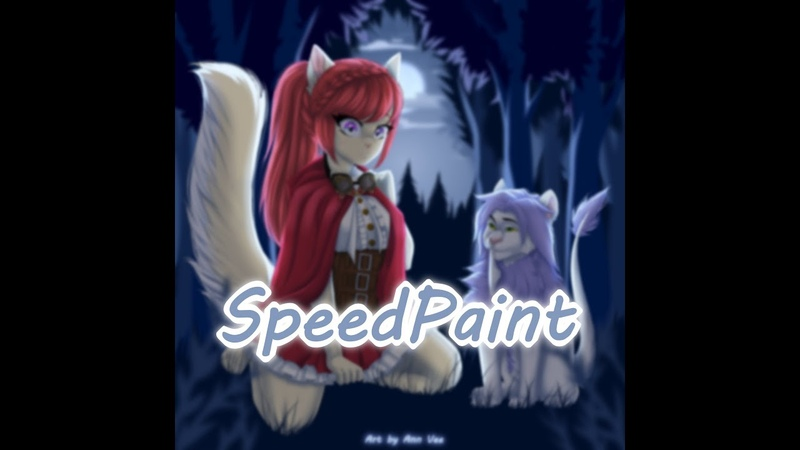 Steampunk Picnic | Timelapse SpeedPaint by Ann Vee