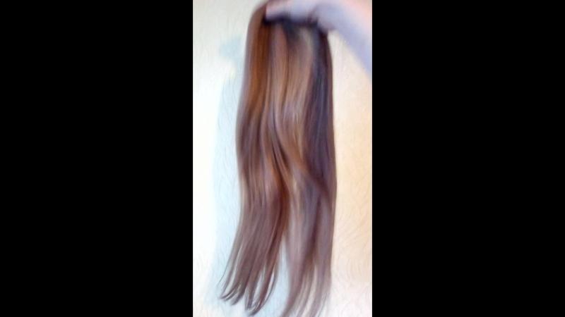Мягкие шелковистые славянские волосы Хорошие концы срок носки не ограничен 13500 вместе с работой