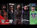 WWE 2K19 Entrances Woken Matt Hardy Jeff Hardy John Cena The Miz Jinder Mahal