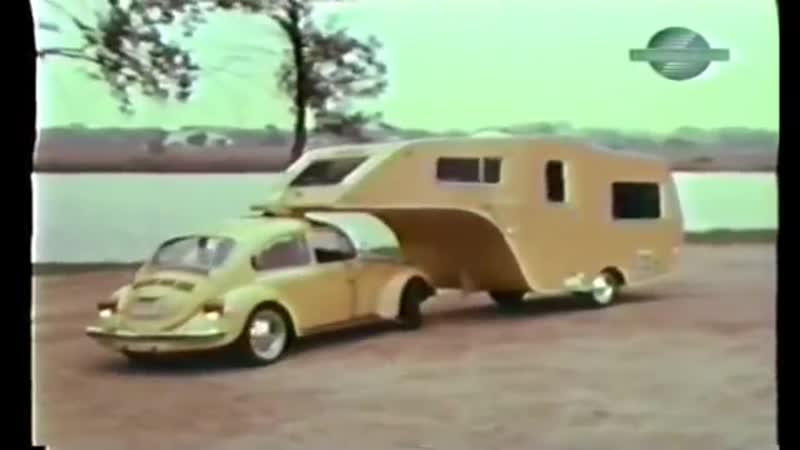 VW Bug Gooseneck Trailer FOUND Forgotten Volkswagen Camper 1 of a kind VW acce