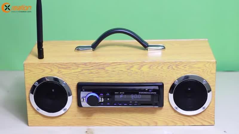 Building Multi-function Bluetooth Speaker_FM Radio_MP3 Player