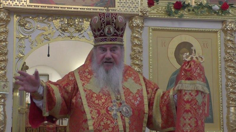 Архиепископ Зосима о сектантах в Соликамске