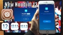 Houdini 12 JB for all iOS 12 - 12.1.2 - 12.1.3 Working Substrate, Tweaks and Themes!