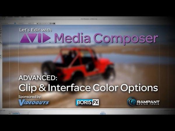 Clip Interface Color Options