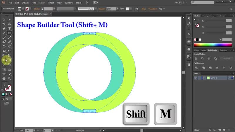 [1][108.40 C] how to draw the impossible circle in adobe illustrator
