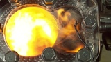 See Through Engine - 4K Slow Motion Visible Combustion  #coub, #коуб