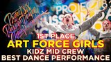 ART FORCE GIRLS, 1ST PLACE | KIDZ MID ★ RDC18 ★ Project818 Russian Dance Championship ★