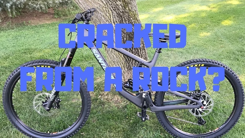 2019 Santa Cruz Nomad Frame Cracked FIRST RIDE