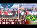 Brasil y la curiosa técnica del estiramiento definitivo la cara de Danilo lo dice todo Diario AS