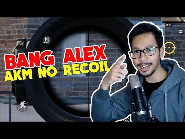Hebat! Bang Alex pakai AKM No Recoil - Pubg Mobile Indonesia