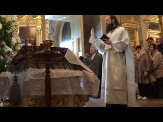 27/04/2019 Богослужение на Ваганьково в Великую субботу