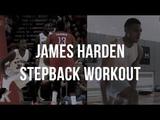 James Harden Stepback WORKOUT (Part 1)