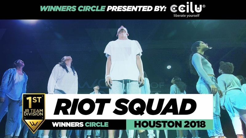 Riot Squad | 1st Place Jr Division | Winners Circle | World of Dance Houston 2018 | WODHTOWN18 | Danceproject.info