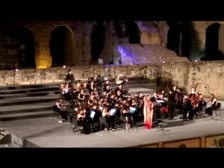 Фестиваль классической музыки в колизее. Прима Сандра Ферандес (г. Эль-Джем)