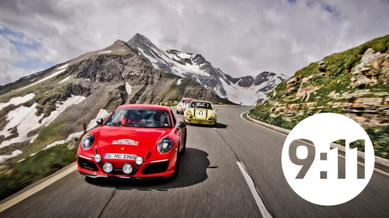 17 extraordinary Porsche on the Grossglockner – photo shoot with CURVES photographer Stefan Bogner