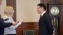 21 03 2019 Врио Главы Калмыкии Бату Хасиков дал интервью информационному агентству ИТАР ТАСС