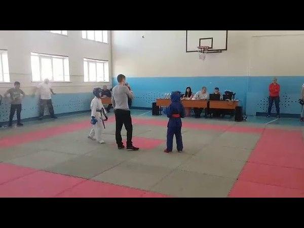 Аникеев Тимофей [PRIDE GYM] - Рукопашный бой, первый бой