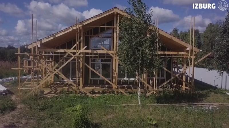 Видео для строительно-производственной компании «izburg».