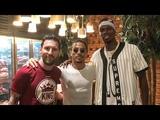 Lionel Messi, Paul Pogba & Salt bae in Dubai.