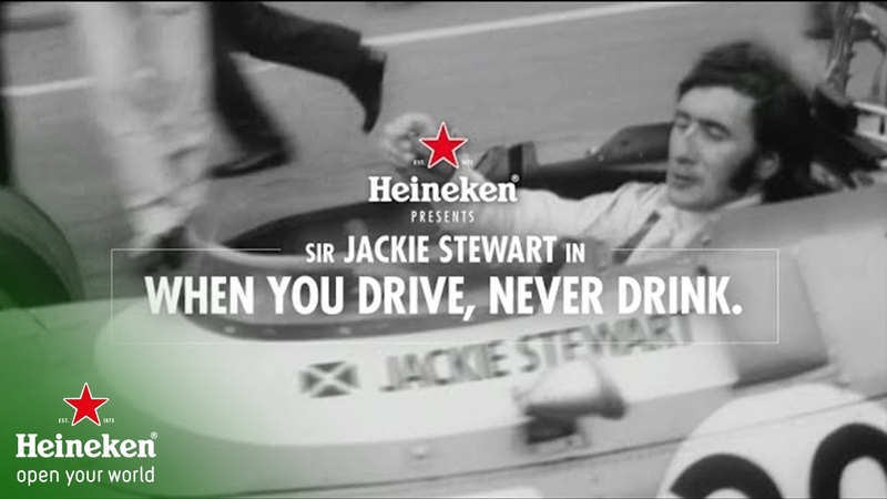 Heineken presents Jackie Stewart in When You Drive Never Drink