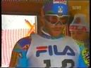 Alberto Tomba wins slalom Sestrieres 1991