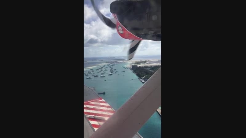 Полет на гидросамолёте