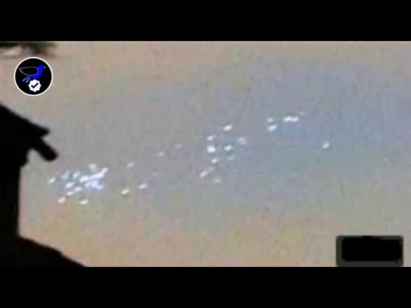 Swarm of Unidentified Lights Videotaped over London, England May 17,2018