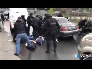 Задержание мошенников и грабителей в Москве