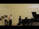 Первое выступление Тимофея на валторне в музыкальной школе им. Гайдна.