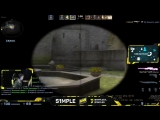 S1mple is playing better than everybody else rn. This is insane