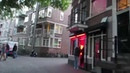 Evening Walk to the Amsterdam Red Light District The Wallen in Holland - The Netherlands